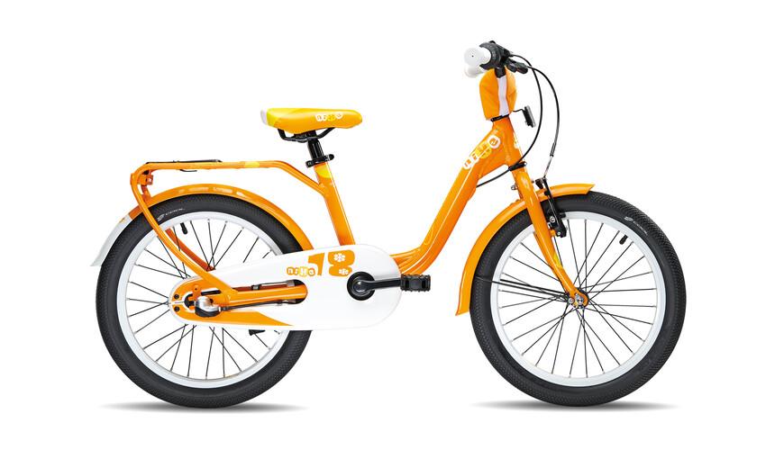 s'cool niXe 18-3 kinderfiets Kinderen oranje